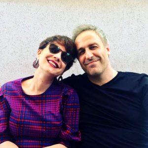Mirela Oprisor Aspirina din Las Fierbinti si sotul sau Mimi Branescu